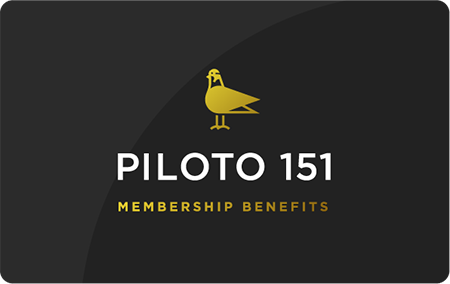 Piloto Benefits card